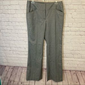 Kenneth Cole Reaction NWT pin striped wide leg pants